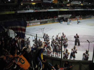Canadian Hockey Fans Boring? Maybe Compared to the Swiss (Langnau, Switzerland)
